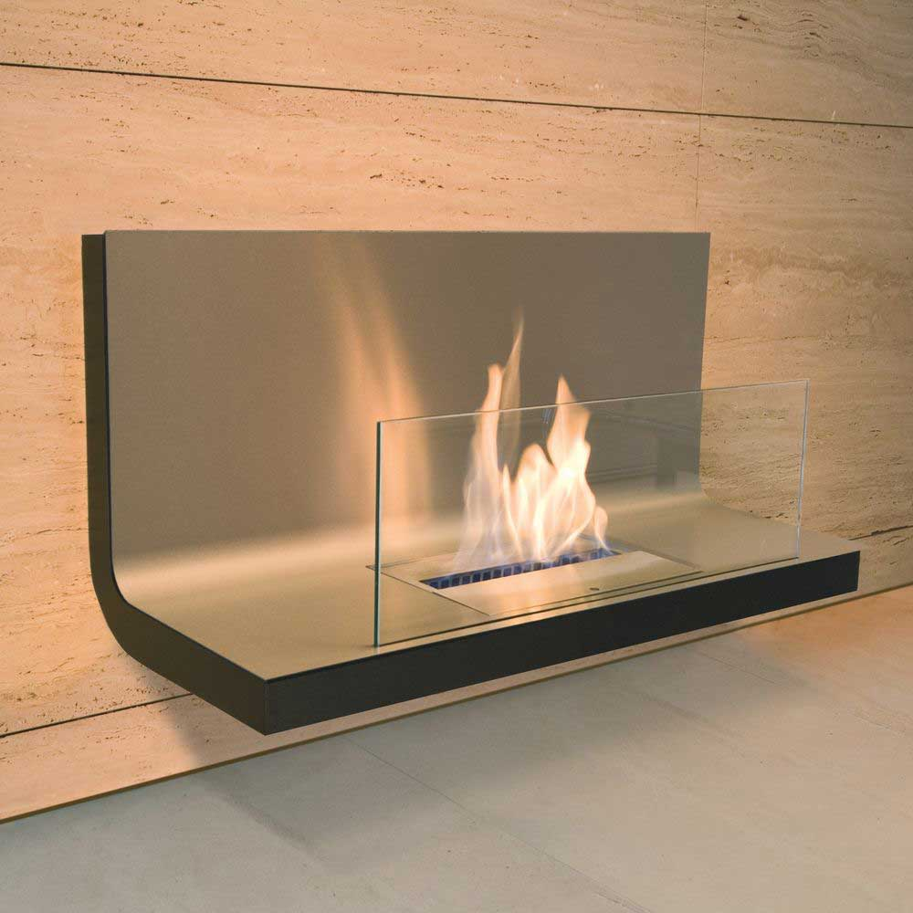 Kamin In Der Wand - homeautodesign.com -